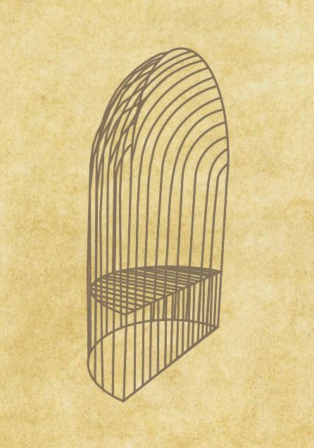 Arbour Seat Drawing